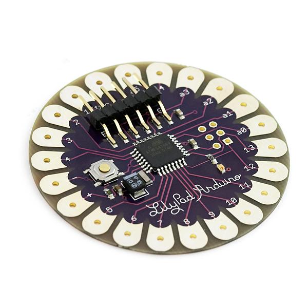 Lilypad arduino main board rocket scream