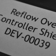 Reflow Oven Controller Shield Label