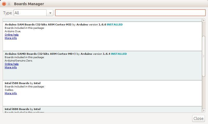 Arduino IDE Install SAMD Boards