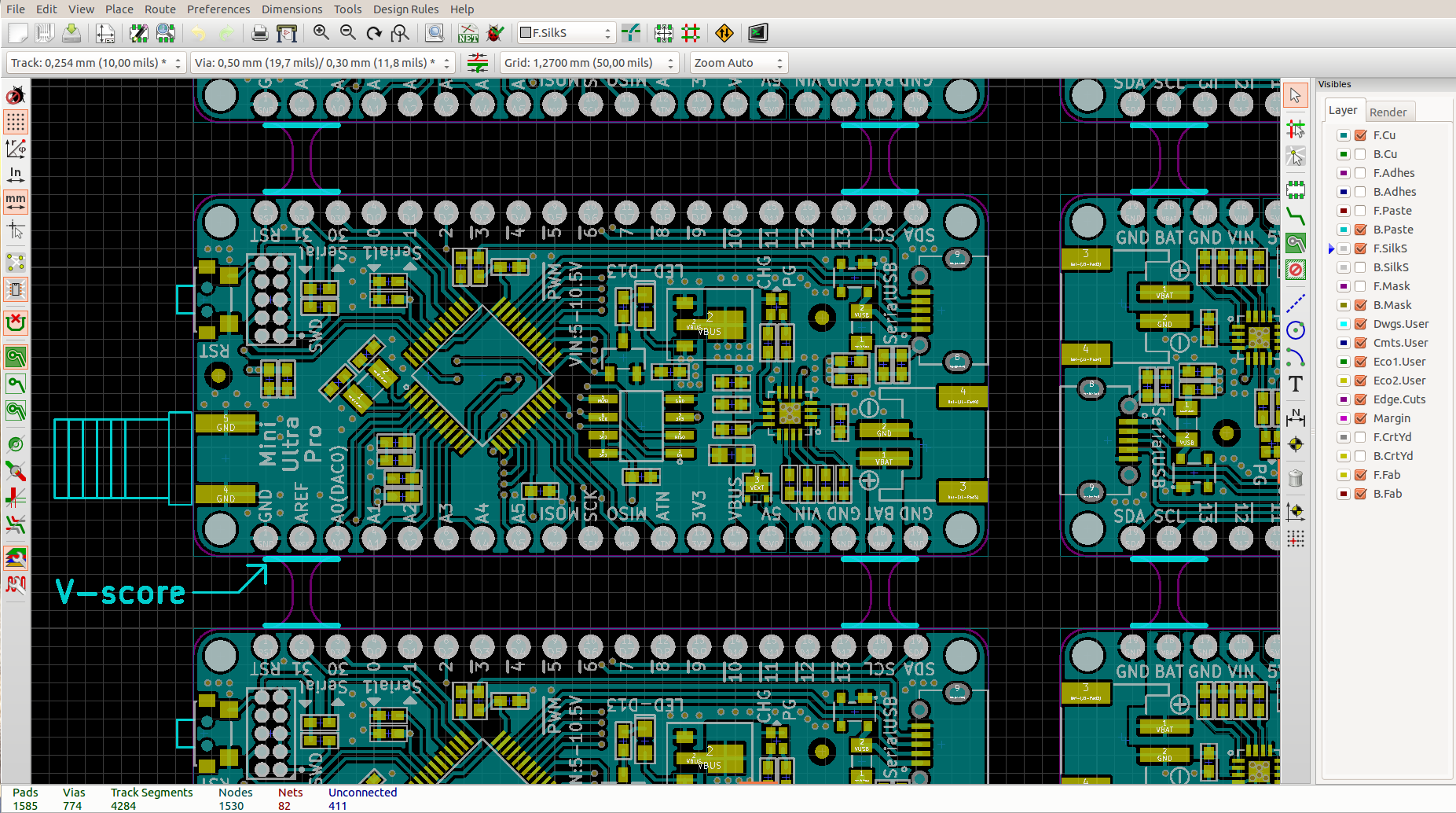 From Diptrace to KiCad – Rocket Scream on