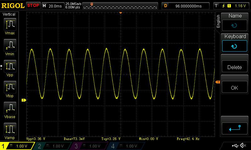 Sinusoidal Output DAC
