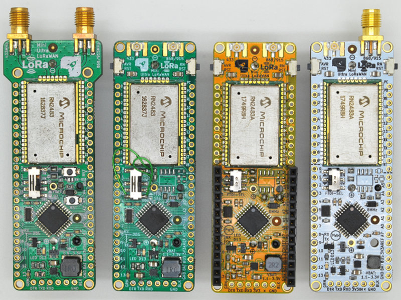 Single Cell Arduino Compatible LoRaWAN Low Power Node
