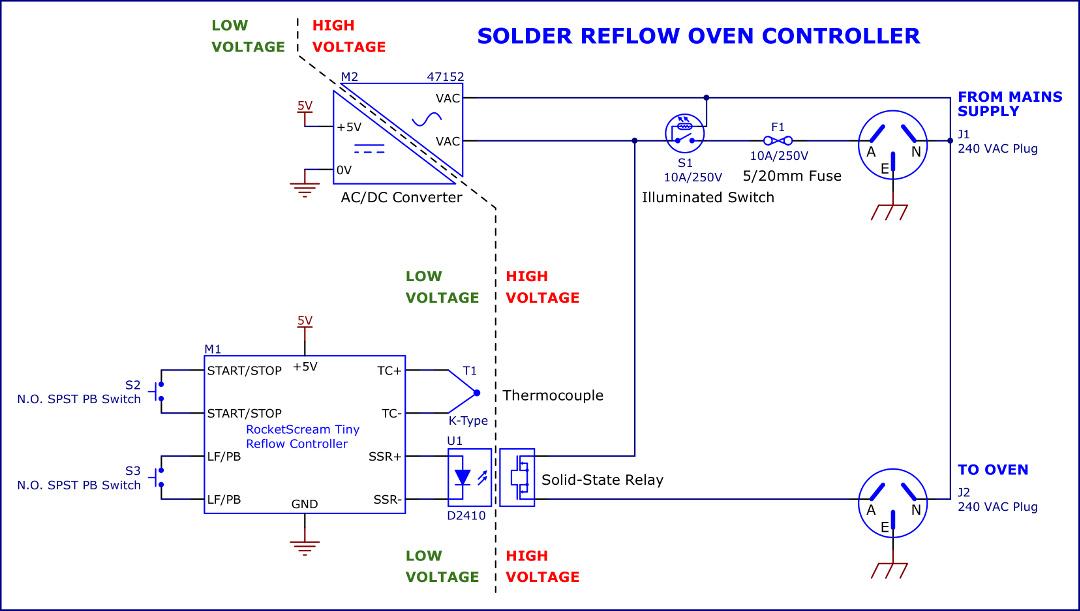 KeithSolderReflowOvenControllerSchematic